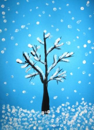 Поделки на тему зима своими руками