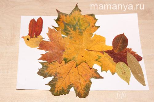 Детские поделки из природного материала своими руками. Осень