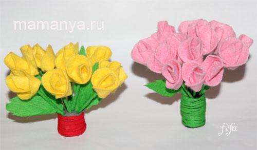 Светильники напольные из цветов