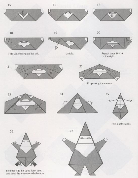 Оригами из бумаги на новый год своими