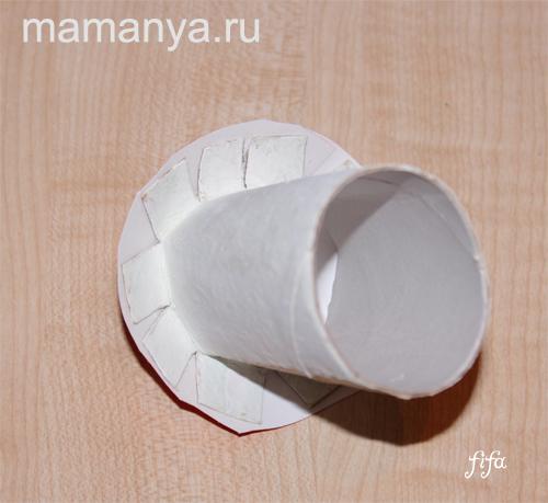 Как сделать гриб из картона своими руками