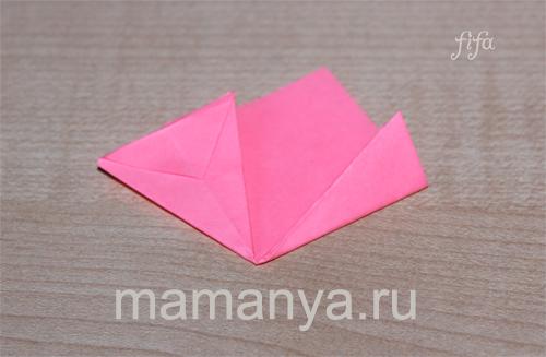 оригами из бумаги кусудамы