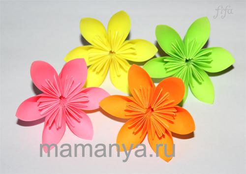 Букет цветов из бумаги своими руками как сделать корзинку из бумаги 182