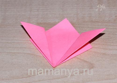 оригами схемы кусудамы