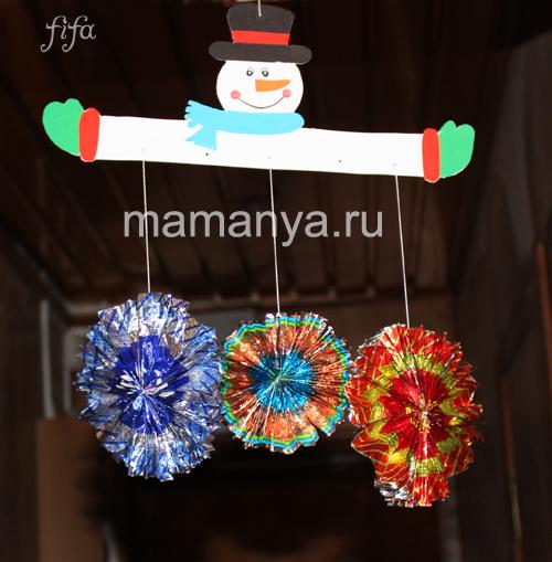 Поделки к Новому году Маманя.ru - сайт для родителей